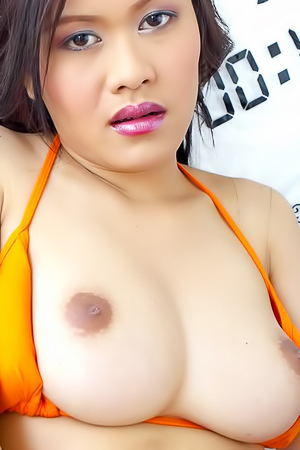Patt Pandava Squeezing Boobs And Spreading Pussy