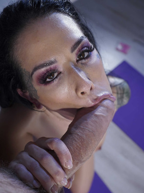 Katrina Jade With Huge Cock In Her Tight Pussy