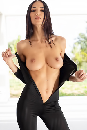 Brunette Erotic Chick Anastasya
